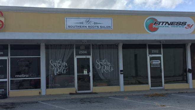Southern Roots Salon was one of the businesses hit by a burglar just as Hurricane Irma left Titusville.