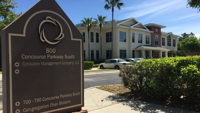 Consulate Health Care headquarters in Maitland, Fla., a suburb of Orlando. Consulate nursing homes systematically abused and neglected patients to boost profits, according to a whistleblower lawsuit.