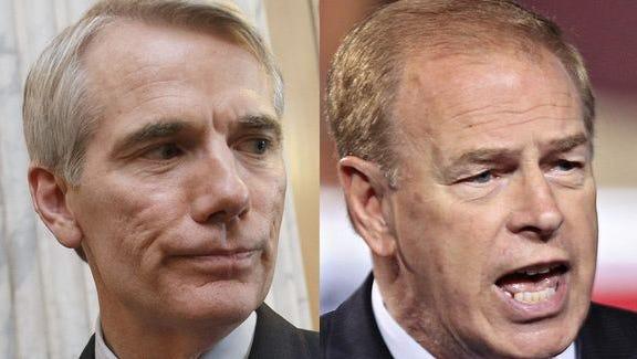 FOP endorses Sen. Rob Portman over former Gov. Strickland in the tight U.S. Senate race.
