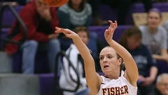 Mary Kate Cusack, a senior guard from the Albany area, leads St. John Fisher in scoring at 14.8 points per game and assists at 3.2.