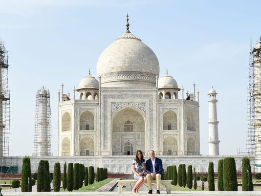At the Taj