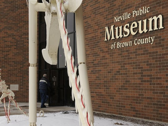 Neville Public Museum in downtown Green Bay.