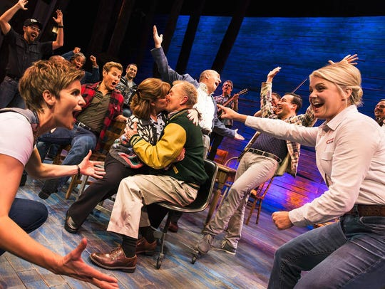 """The cast of """"Come From Away."""""""