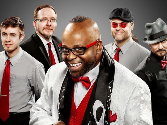 """David Deon Stuart and the Soul Inspiration will perform at the """"Get on the Love Train"""" gala Feb. 25."""