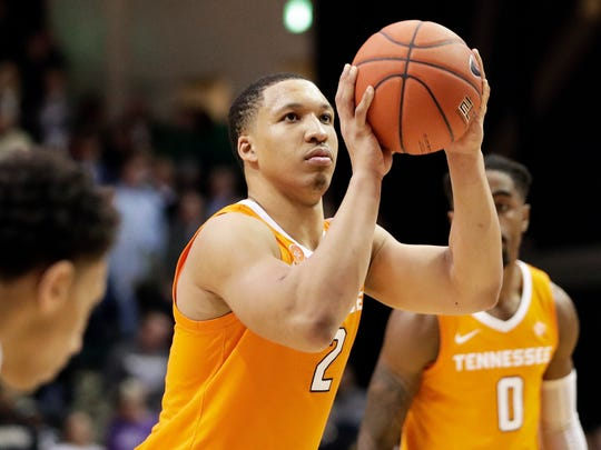 Grant Williams is having a monster year and Tennessee is ranked No. 5.