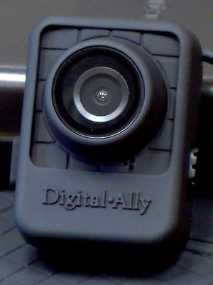 The Digital Ally FirstVU HD video body camera selected by Colerain Township Police.