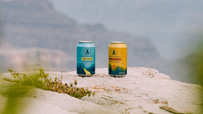 Though Athletic Brewing Company is based on the East Coast, its beers are now available to buy in Texas or to order online.