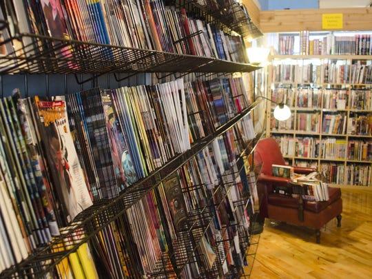 Aw Year Comics in downtown Muncie
