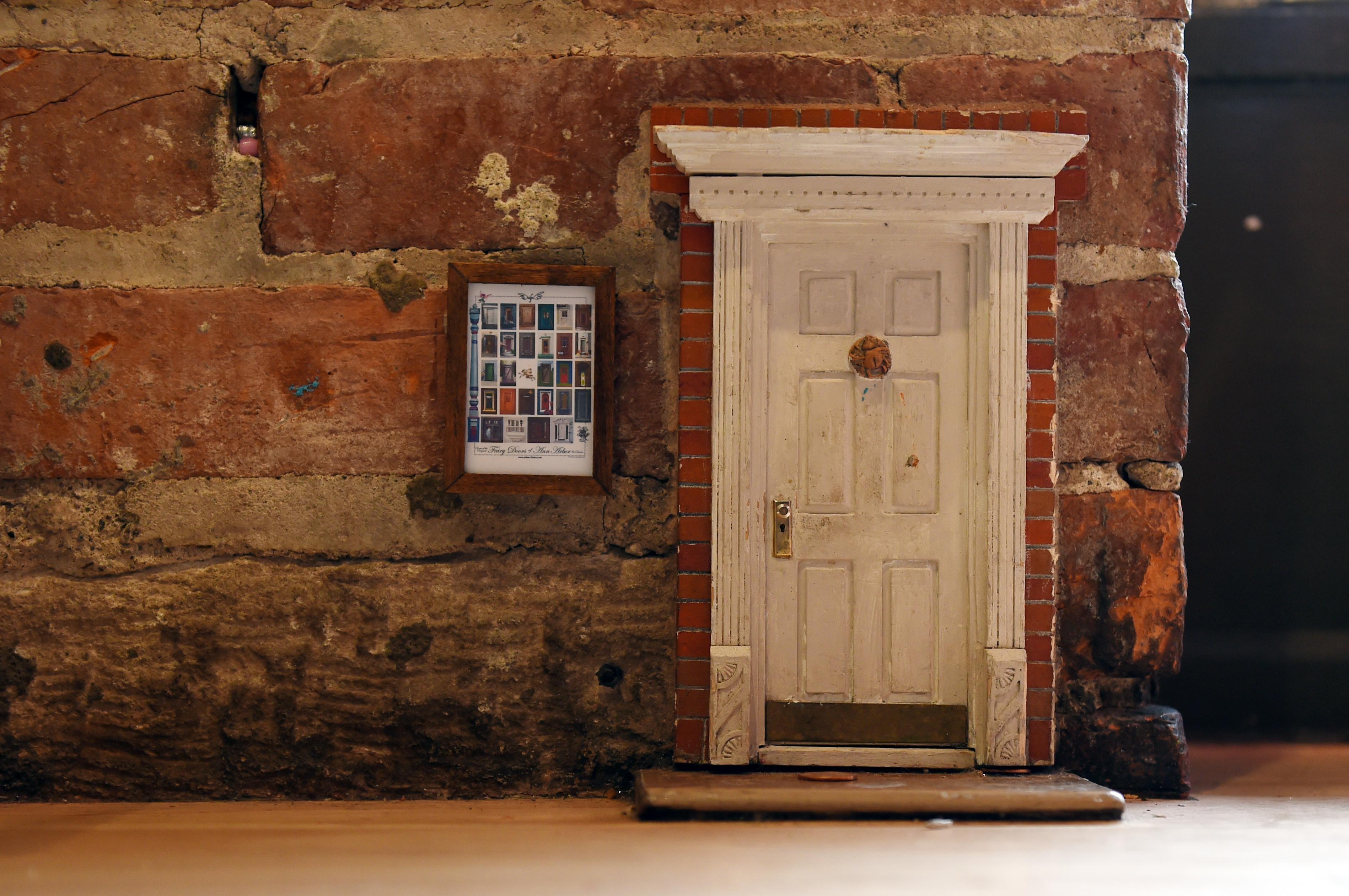 Exchange-Fairy Doors (4) & Opening the secrets behind fairy doors in Ann Arbor