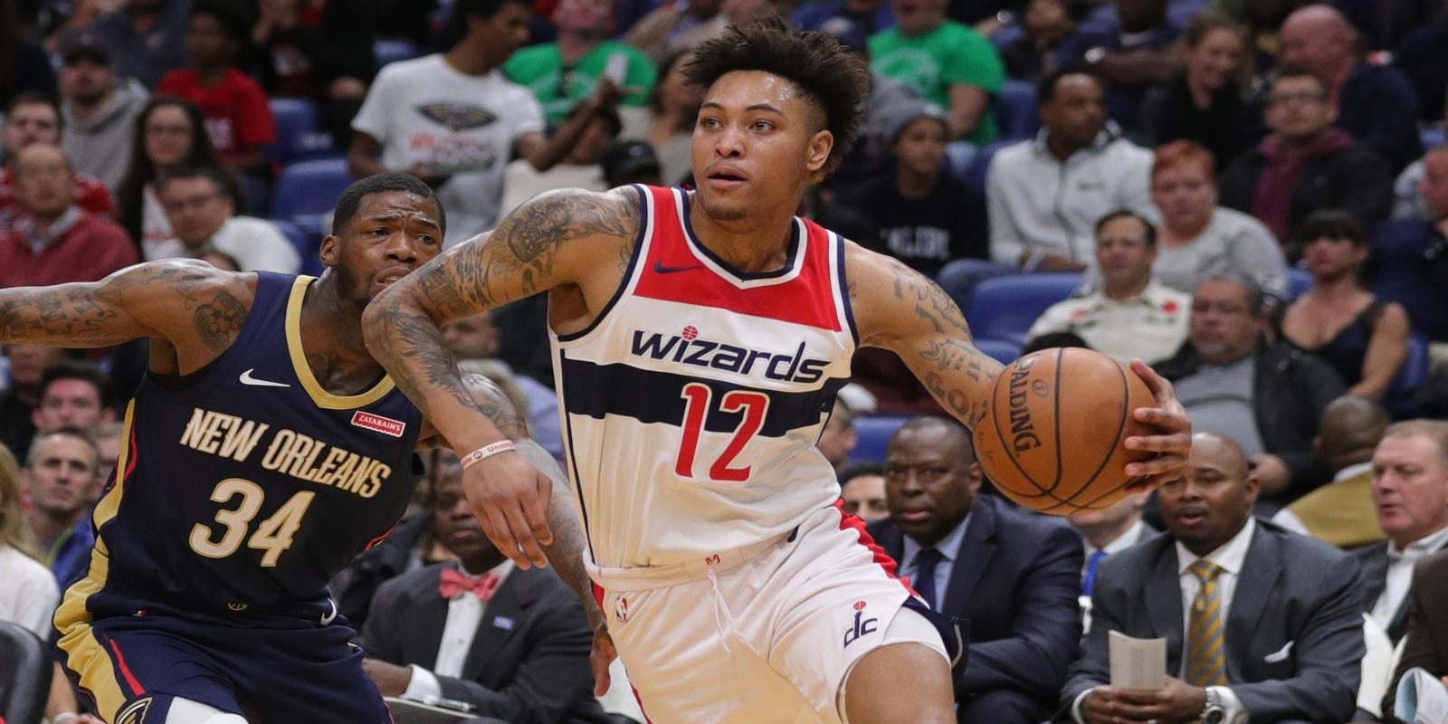 e5e7bbe900a7 Wizards snap Pelicans  win streak at 10 without Anthony Davis