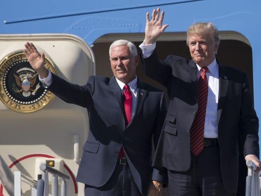 USP NEWS: DONALD TRUMP RALLY A USA AZ