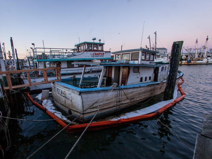 End of an era miss point pleasant to be removed for Point pleasant fishing boats