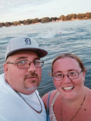 Nicholas Paré and Shannon McIntyre, seen here on a trip to Florida, died in December in a head-on crash caused by a wrong-way driver on I-275.