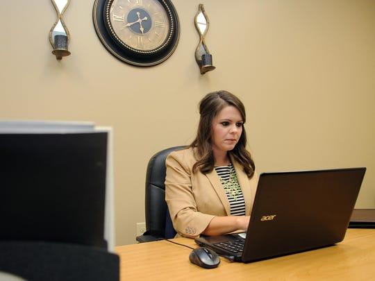 Nicole Davis, coordinator of onsite recruitment and