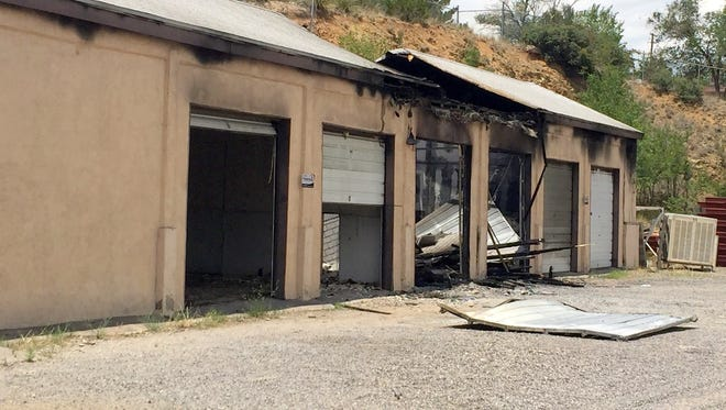 """On July 9, officers were dispatched to the 1500 block of Market Street where they found a building in their impound lot on fire. According to Silver City Police Chief Ed Reynolds, """"The building appears to be a total loss along with one vehicle being stored there for evidence."""""""