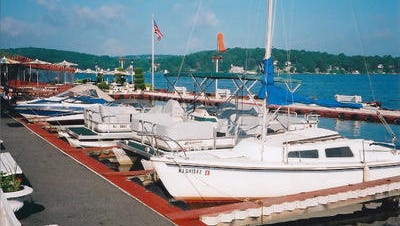 ile photo Boats are parked at the Windlass on Lake Hopatcong in this file photo.