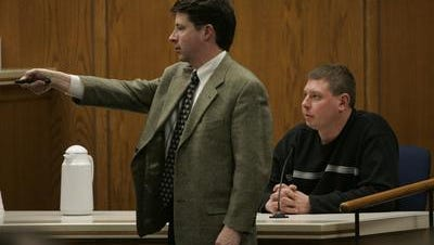 Brillion volunteer firefighter William Brandes Jr. is questioned by Steven Avery's lawyer Dean Strang during the 2007 trial.