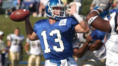 Mater Dei grad Jake Schiff, who also played for Indiana State, remains the IHSAA's career passing leader