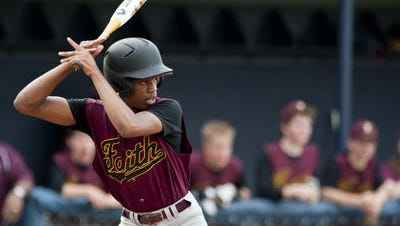 Faith Christian's Vernon Ford is among the area leaders in runs and stolen bases.