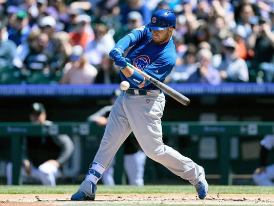 MLB: Chicago Cubs at Colorado Rockies