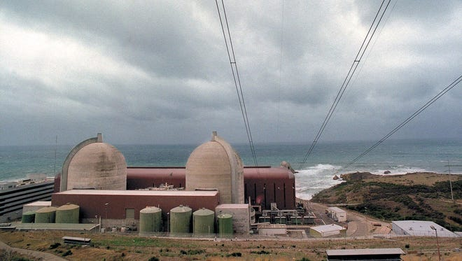 The Diablo Canyon nuclear electric generating station in San Luis Obispo, Calif., is seen in this Jan. 11, 2001, file photo.