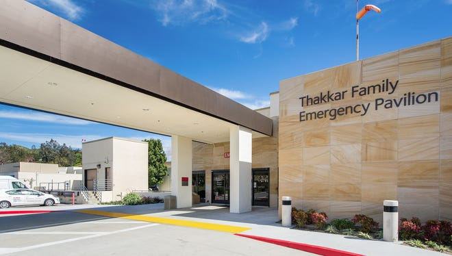 The Thakkar Family Emergency Pavilion has been dedicated at Simi Valley Hospital.