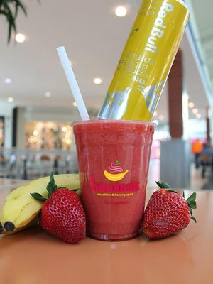On April 17 and 18, Bananas Smoothies & Frozen Yogurt will treat certified public accountants to The CPA, a strawberry and banana smoothie infused with Red Bull