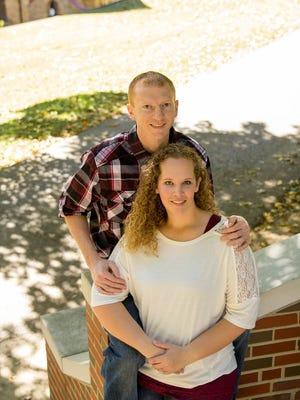 Jami Storey and Timothy Hall