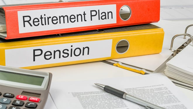 When choosing between job offers, the one that offers a pension along with the 401(k) plan is your best bet, even if the 401(k) match is less.