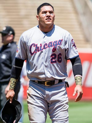 """""""""""It's a shame that we Venezuelans can't live in that beautiful land because we have such a bad, corrupt government,"""" says AL All-Star and White Sox outfielder Avisail Garcia."""