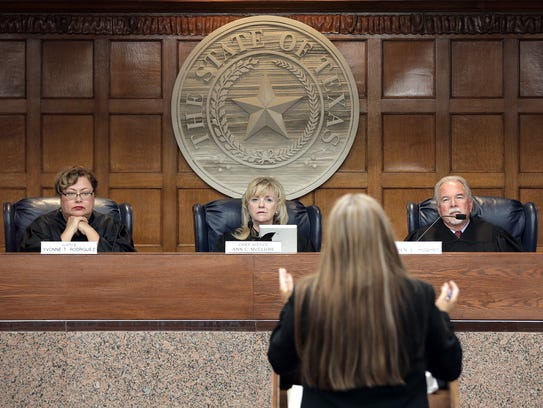 The Texas Eighth District Court of Appeals hears the