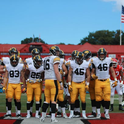 Iowa's offense gained 5.8 yards per play against Rutgers,