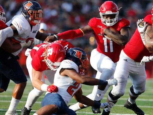 NCAA Football: Morgan State at Rutgers