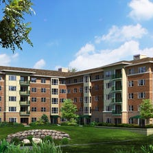 In spring 2015, Fox Run in Novi is planning to open its first new residence building in six years. The Edgewater will feature 94 apartment homes, including 16 never-before-seen floor plans