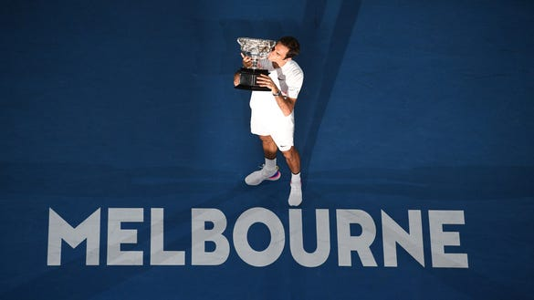 Has any tennis player ever ruled a tournament like Rafael Nadal?