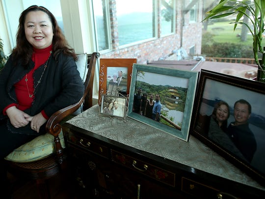 Silverdale physician Oanh Truong at her Seabeck home on Tuesday.