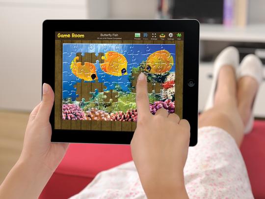 A screenshot of the app Jigsaw Puzzle Box.