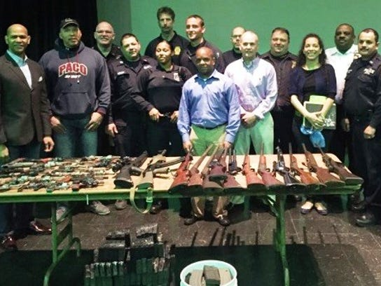 Westchester County Crime Stoppers members and police