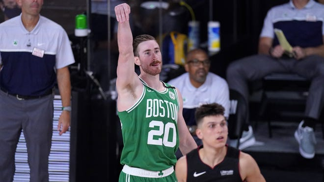 Boston's Gordon Hayward should benefit from a three-day rest between playoff games.