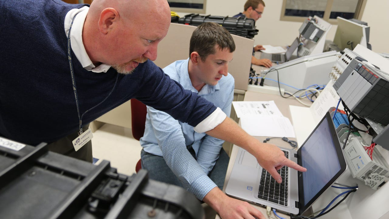 With the multi-billion-dollar announcement of the Foxconn flat-panel facility in Racine County, USA TODAY NETWORK-Wisconsin asked a student and a staff member the potential for students in the automation program at Lakeshore Technical College