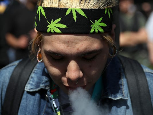 "Annual Marijuana ""Holiday"" 4/20 Celebrated In San Francisco"