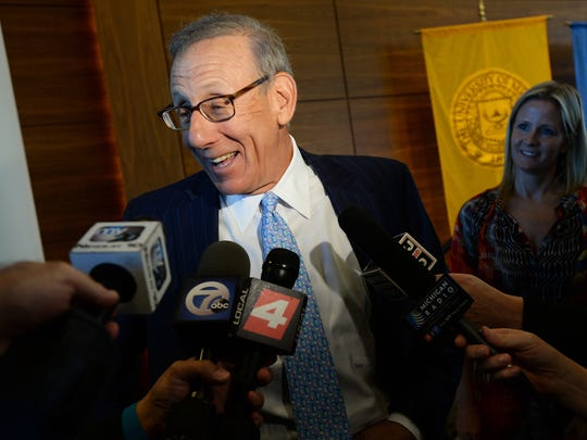 Stephen M. Ross and his partners may not deduct as a charitable contribution $33 million for commercial land donated to the University of Michigan in 2003, an appeals court ruled, siding with the IRS.