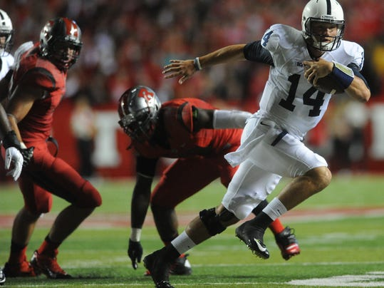 Will Christian Hackenberg be running for his life more than ever against surging Ohio State?