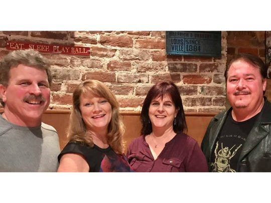 MAMA officers, from left, Rick Hansen (VP, treasurer), Alesia Gilliland (2nd VP, executive secretary), Nancy Franklyn (membership chair), and Jeff Cummings (president and founder).
