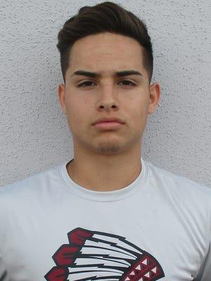 Damian Solis, quarterback Ysleta High School football