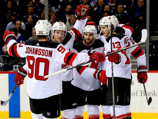 NHL: New Jersey Devils at New York Islanders