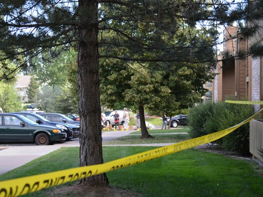 An officer-involved shooting this morning left a 22-year-old