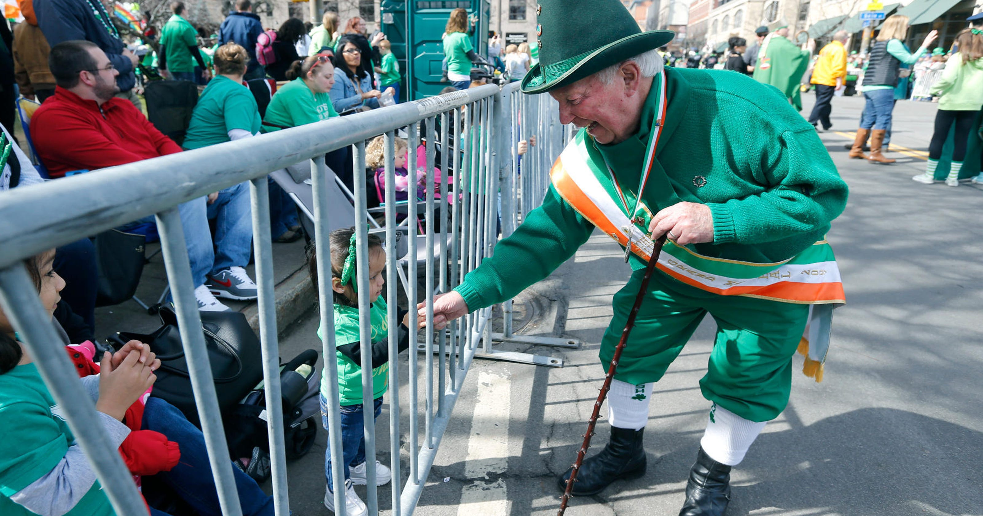 79a302c35 Rochester's favorite leprechaun is saying goodbye to the parade