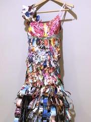 This dress, made by Annaliese Ferguson, took first