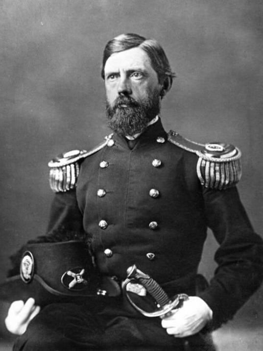 Maj. Gen. John Fulton Reynolds, USV, a native of Lancaster PA. Courtesy of the Library of Congress.